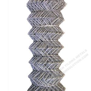 Galvanisierter Kettenglied-Zaun-Diamant-Maschendraht China Hersteller