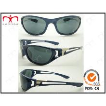 Горячие продажи с загнутыми из пластиковых спортивных солнцезащитных очков (LX9852)