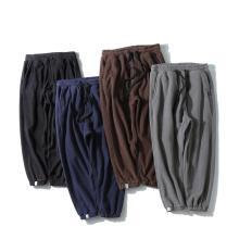 Herren Micro Fleece Hose mit elastischer Taille