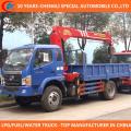 6 Räder LKW Kran 2t 3t LKW Kran gebaut