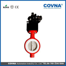3 inch Butterfly valve with pneumatic actuator