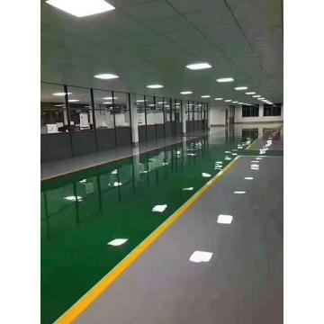 Brilliant Green Epoxy Flat Coating