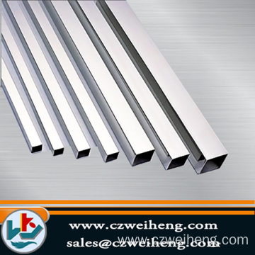 316 square stainless steel tube/pipe