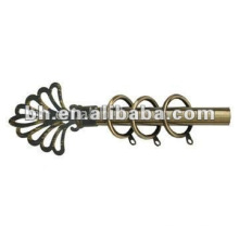Zhejiang diseño de la cortina de aluminio, barra, barra de cortina popular