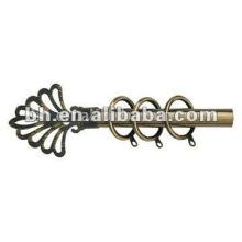 Zhejiang design en rideau en aluminium, tige, barre de rideau populaire