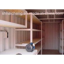 Containeraufbewahrung mit vier Bodenständern (shs-fp-special010)