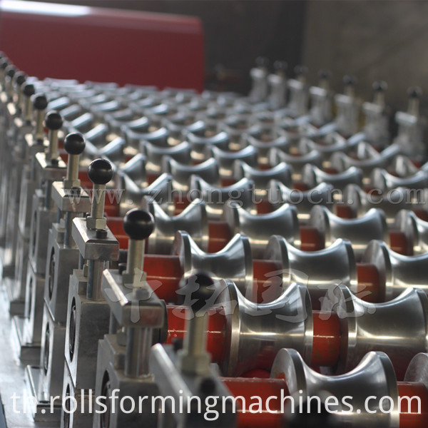 Corrugated board roll forming machine (7)
