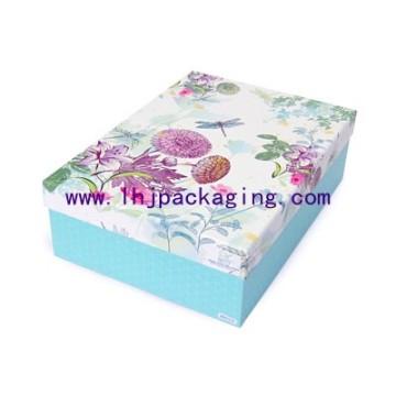 Cosméticos de encargo de embalaje de papel caja de perfume Caja de reloj de lujo