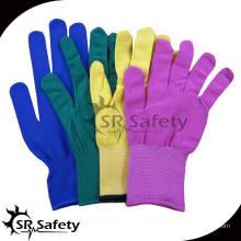 SRSAFETY 13 цветов калибра для нейлоновых / полиэфирных перчаток