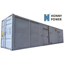 Generador diesel silencioso del envase de alto voltaje de Googol 1000kw