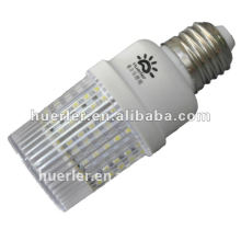 4.5w smd led bulb e27 transparent pc shell