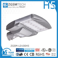 Luz de rua LED 100W barata com chips Philips Lumiled