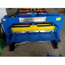 Stahlblech-farbige Fliese galvanisierte Stahl-Welldach-Kaltwalzmaschine