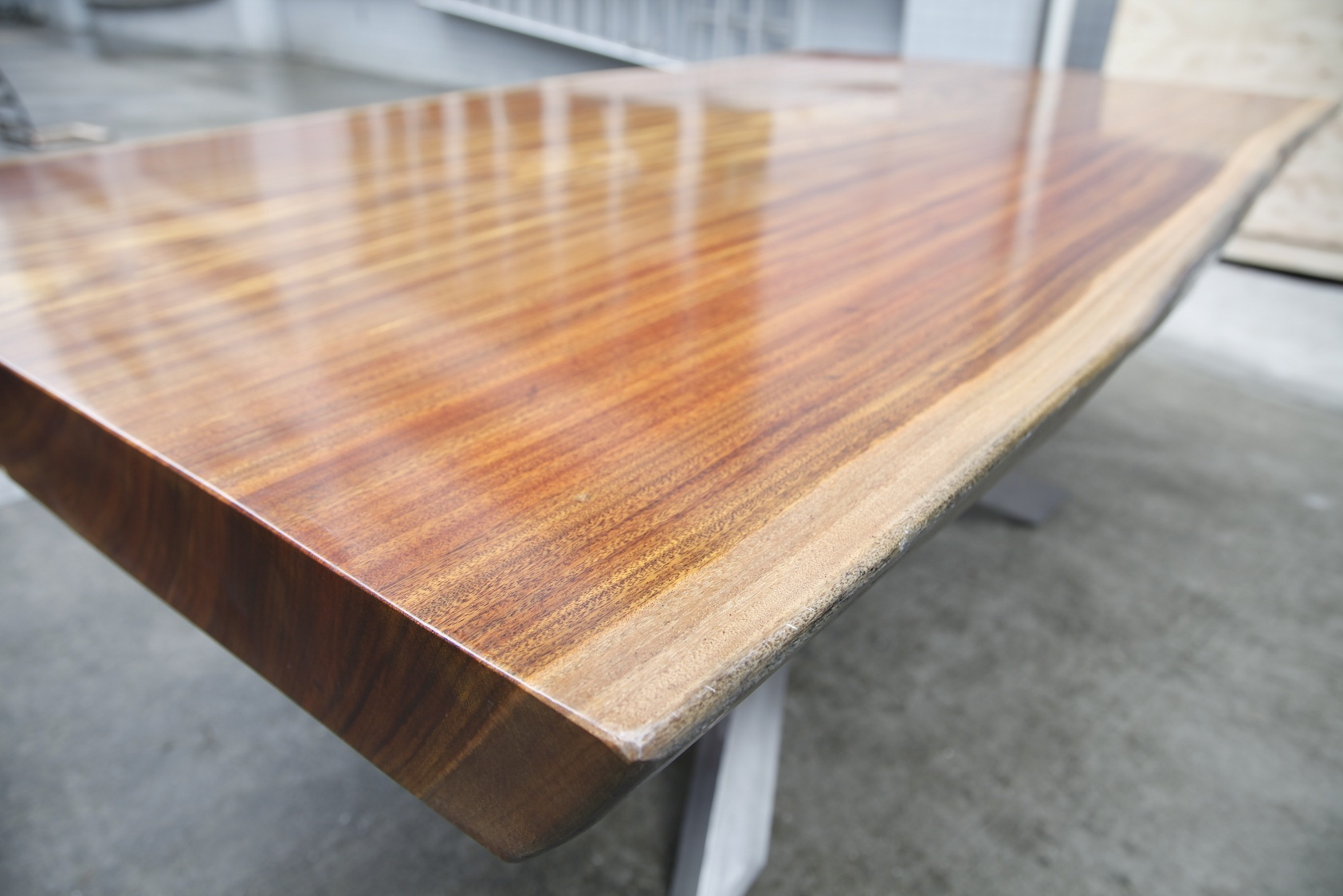 Solid Wood Top Dining Table