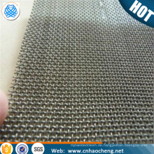 100 mesh 150 micron sulfur resistance nichrome woven wire mesh