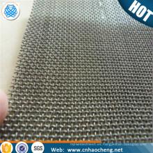 Malla tejida nicromio de la resistencia del azufre de la malla 100 de 150 micrones