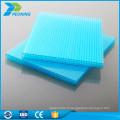Bon isolant thermique en polycarbonate carport transparent toit panneau en plastique extérieur