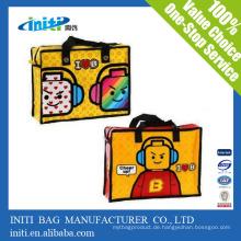Qualität Eco Laminated pp gewebte Tasche / recycelt pp nicht gewebte Einkaufstasche