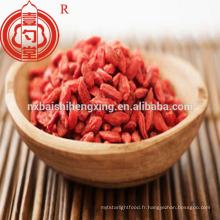 Berry goji china goji berry dans les fruits secs aliments de santé à bas prix