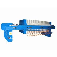 Prensa de filtro de cámara de placa empotrada hidráulica con placa de filtro manual Cambio por prensa de filtro semiautomática de cierre hidráulico