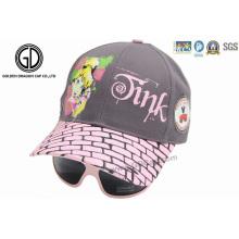 Gorras de béisbol impresas personalizadas para niños y niños con gafas de sol