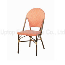 (SP-OC521) China Factory Outdoor Cafe Aluminium Wicker Chair