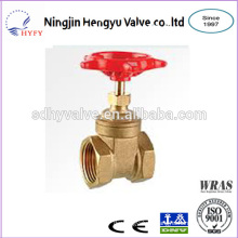High quality gate valve brass for mini size