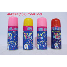 250ml hot selling new design and many colors for party flying snow
