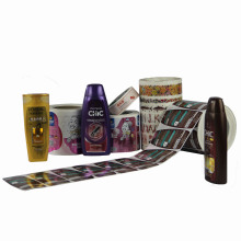 Hot Sale Printed High Quality Self Adhesive Label Sticker for Shampoo Package