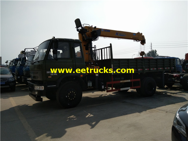 Telescopic Boom Crane Trucks