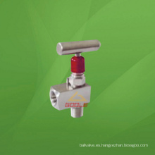 Válvula de aguja de rosca NPT de 6000 psi (GAJX)