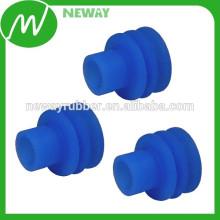 Manufactuer OEM Blue Silicone Plug Seals