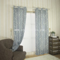 LINEN JACQUARD POLYESTER CURTAIN 6003-2