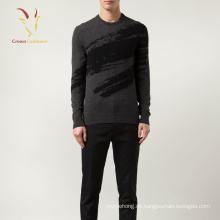 2017 Herbst Druck Design Cashmere-Pullover für Männer