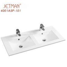 Europäisches Design Doppelwaschbecken Badezimmereitelkeit