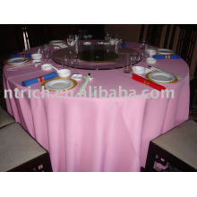 Nappe de polyester, couverture de table de banquet / hôtel, linge de table