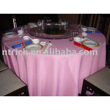 Polyester Tischtuch, Bankett- / Hoteltischabdeckung, Tischwäsche