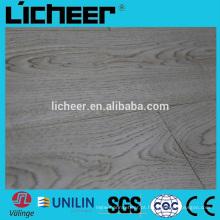 Piso de madeira laminado imitado / piso laminado clique fácil