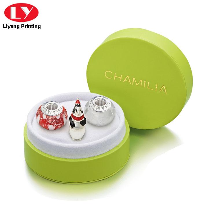 Green Round Box