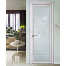 Inward Single Swing Aluminum Doors with Quality Tempered Glass, Waterproof and Blast Proof Aluminium Doors