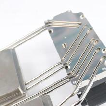 Perfil de alumínio para soldagem de dissipador de calor