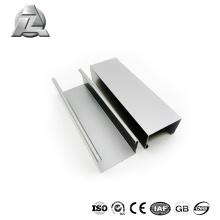profils d'extrusion en aluminium double canal en forme de u pour fenêtre