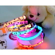 EL Flashing Pet Collar Multi-Color Dog Collar