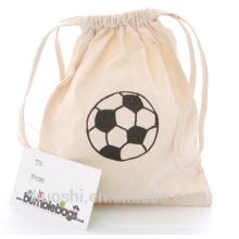 bolsa de algodón con cordón con cordón