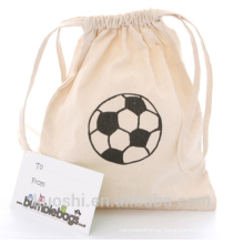 drawstring cotton bag with drawstring