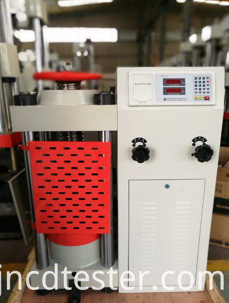 3000Kn Hydraulic Compression Testing Machine