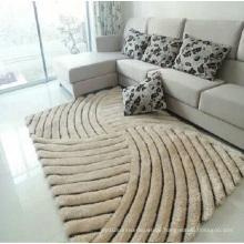 Großhandel 3D elastische Filament Garn 300d Bright Silk Teppich