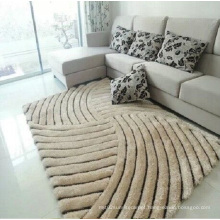 Wholesale 3D Elastic Filament Yarn 300d Bright Silk Carpet