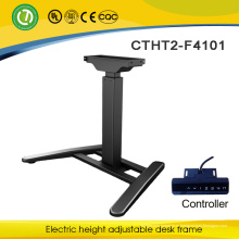 Офисная мебель и регулируемый металлический каркас с электродвигателем и современный дизайн эргономичный встать стол