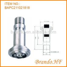 2 Wege 24V Magnetventil Armatur Plunger Rohrmontage für Automotive Ventilsystem